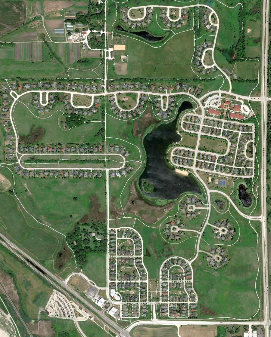 Prairie Crossing Aerial Image